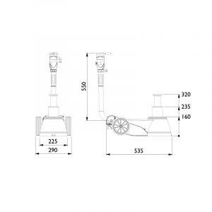 AC B25-2 25 Tonne